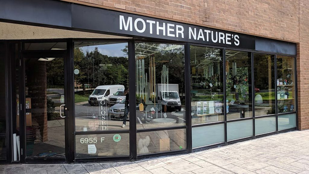 Mother Nature's Store front